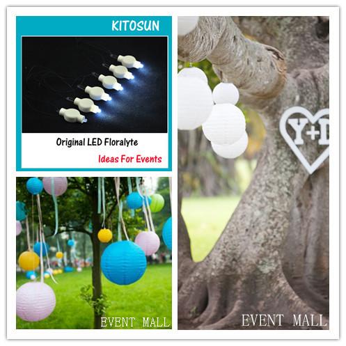 Free Shipping 100pcs/pack Wedding Decor Paper Lantern led Light Multicolors Micro MINI Led Party Light For Party Wedding Decor(China (Mainland))