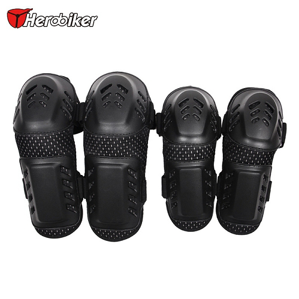 New Knee Pads Dance Vacuum Metal Plated Elbow Support Calf Support Knee Motorcycle Elbow &knee Pads Four Pieces(China (Mainland))
