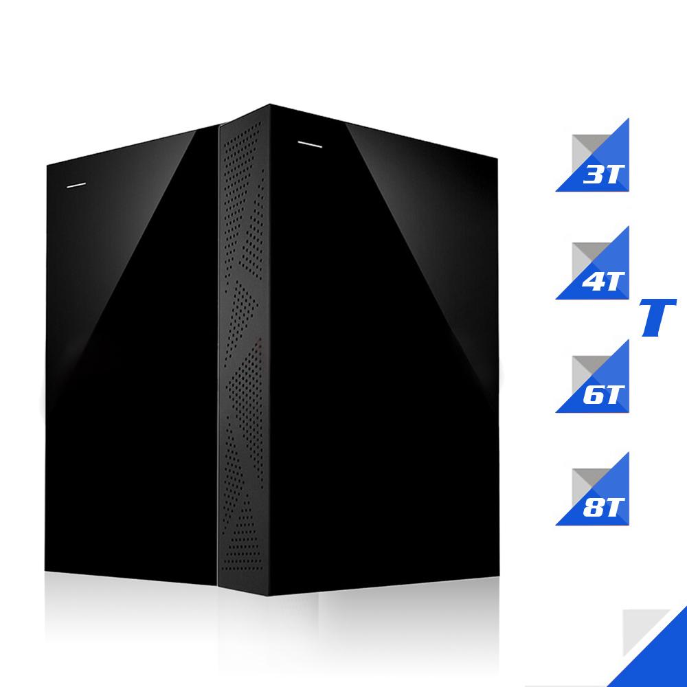 "Seagate 8TB 3TB External HDD Backup Plus Desktop Drive USB 3.0 3.5"" Portable External Hard Drive Disk STEL8000300 For Computer(China (Mainland))"
