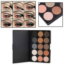 Professional 15 Colors Matte Shimmer Eyeshadow Palette Makeup Cosmetic Hot Selling(China (Mainland))