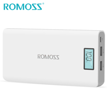 Buy New Original ROMOSS 20000mAh Power Bank Sense 6 Plus External Battery Pack Powerbank Backup Power Dual USB for Samsung & iPhone for $23.99 in AliExpress store