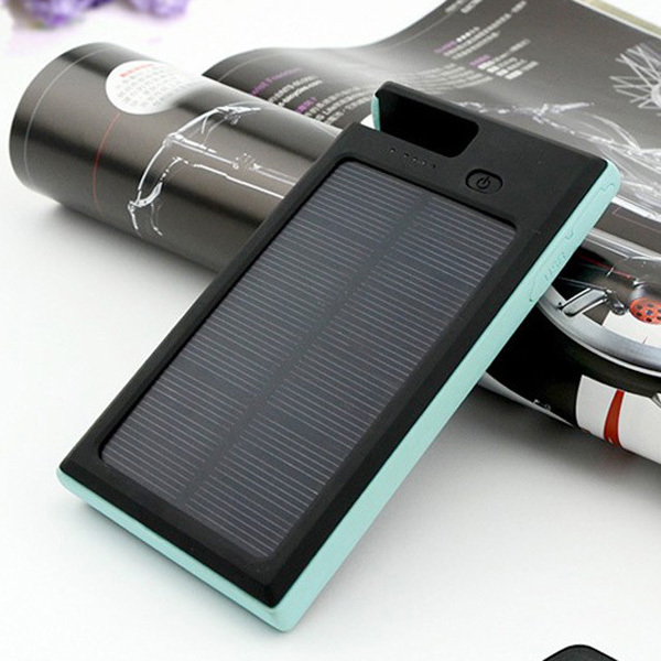 New arrival waterproof solar charger power bank 12000mah 2 usb powerbank solar charger device baterias externas