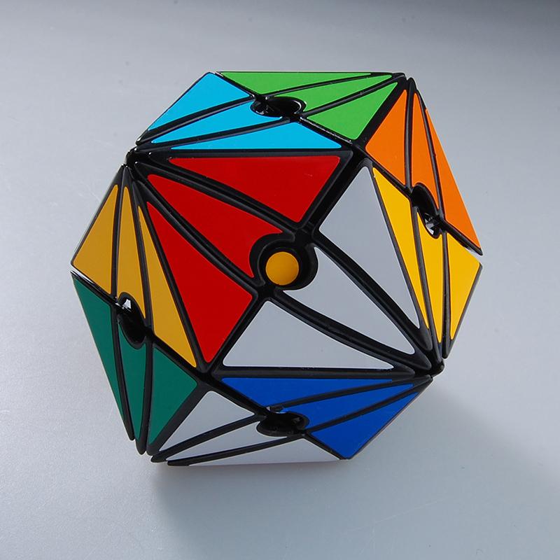 Moyu MoyanThe Satan's Eye II Dice Puzzle Black Cubo Magico