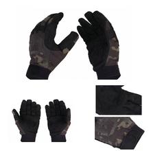 Multicam Black Patrol Gloves Full-finger JD camo ligth assault gloves MCBK camo tactical gloves