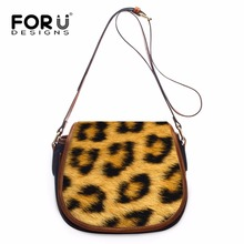 Buy FORUDESIGNS Leopard Print Women PU Leather Messenger Bags,Brands Ladies Mini Crossbody Bag,Woman Female Cross Body Shoulder Bag for $42.95 in AliExpress store