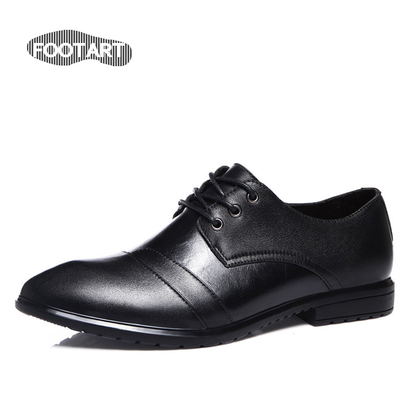 2016 Hot Oxford Men Shoes Leather Male Fashion Spring Summer Dress Shoes Men Flats Genuine Leather Homme Shoes Size 37-44