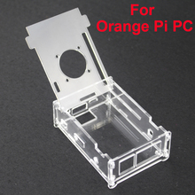 Hot Sale Transparent Acrylic Case For Orange Pi PC Clear Professional Enclosure Cover Shell Box compatible Orange Pi PC Plus(China (Mainland))