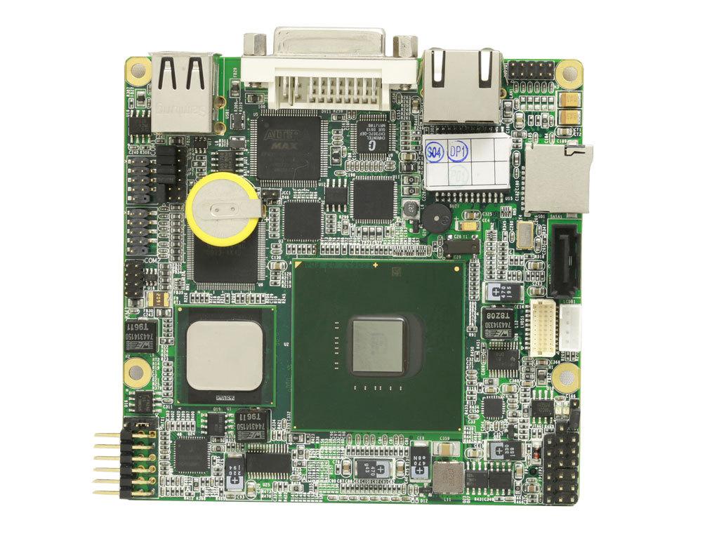 Industrial Motherboard 2 Atom Z530 Pico Itx Evoc(China (Mainland))