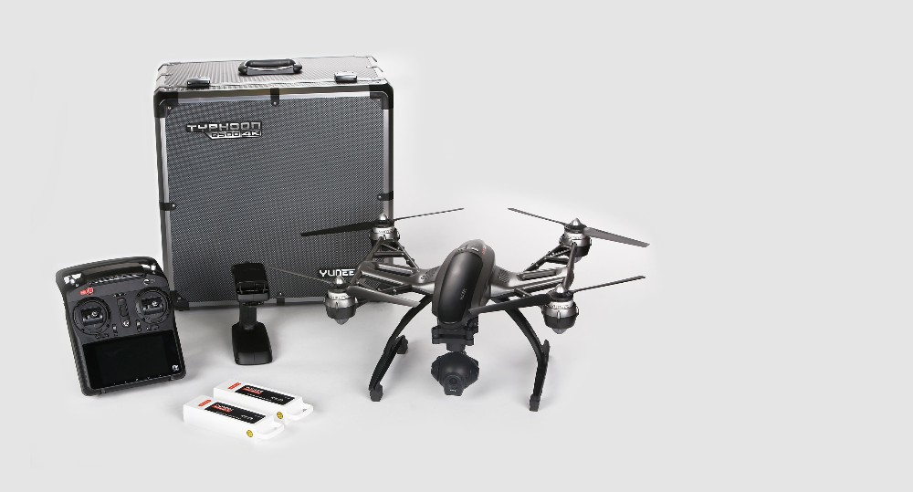 Newest Version IN Stock!!! Yuneec Q500 4K Quadcopter Steady Grip Handheld Gimbal with Aluminum case + Extra Battery PK phantom 3