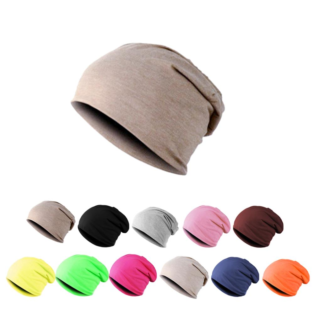 Fashion Candy Color Unisex Men Hip-Hop Warm Winter Autumn cotton blended Ski Beanie smooth Skull Cap 12 Style(China (Mainland))