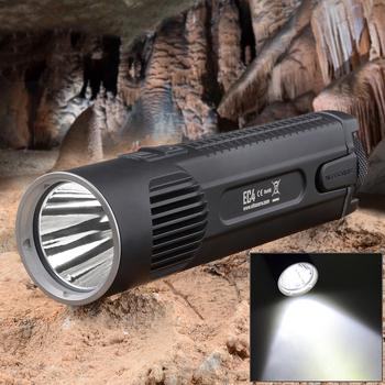 High Quality Palm Size Mini NiteCore EC4 1000lm 5 Mode White Light LED Flashlight For Hiking Climbing