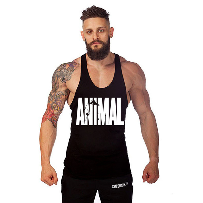 ANIMAL Mens Tank Tops Shirt Gym Singlets Bodybuilding Equipment Fitness Men's Golds Gym Tank Top Sports Clothes M-2XL(China (Mainland))