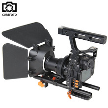 Buy DSLR Camera Rig Handle Video Stabilizer Camera Cage & Follow Focus & Matte Box Kit Sony A7S A7 A7R A7RII A7SII Panasonic GH4 for $183.04 in AliExpress store