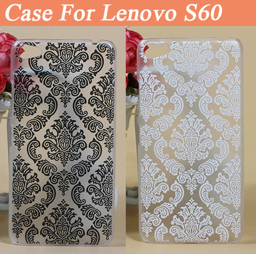 Patterns Print Vintage black & white Painting Case For Lenovo S60 Colored Drawing Hard Plastic For Lenovo S 60 Cell Phone Cover(China (Mainland))