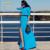 Plus size spring maxi dresses new fashion 2015 women long dress high waist long-sleeve slim floor length casual vestidos black