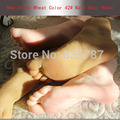 26cm 42 Silicone male fake feet model Inner Bone Inside Toe Move Freely mannequin for shoes