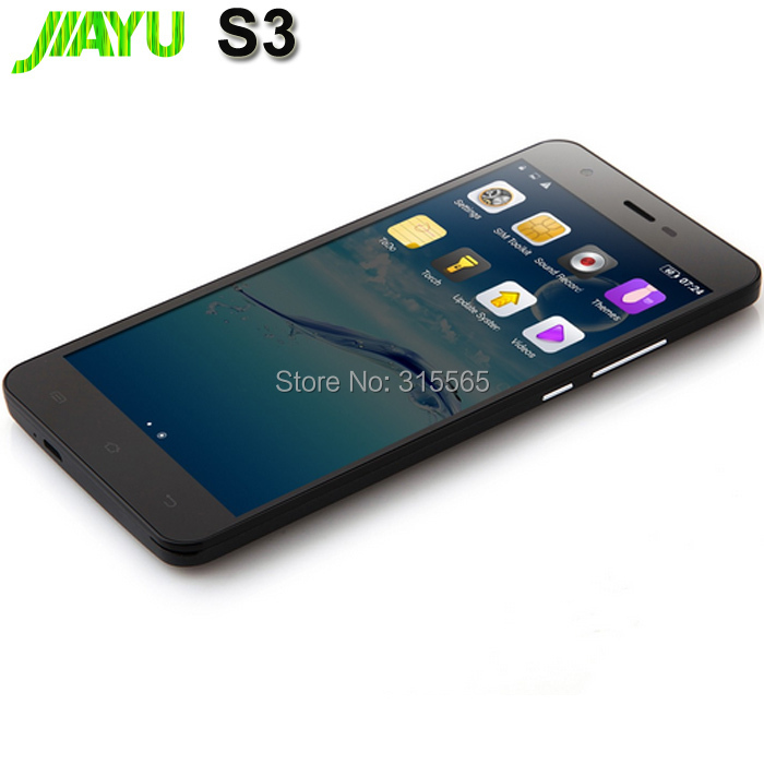 """In stock JIAYU S3 phone 4G 5,5"""" Gorilla MTK6752 1.7Ghz Qcta core Android 4.4 dual sim GSM/WCDMA/LTE Installed google play store(China (Mainland))"""