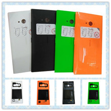 For Nokia Lumia 735 Case Back Battery Housing Cover Replacement Housing Cover For Nokia Lumia 735 Fundas Coque Phone Cases Capa(China (Mainland))