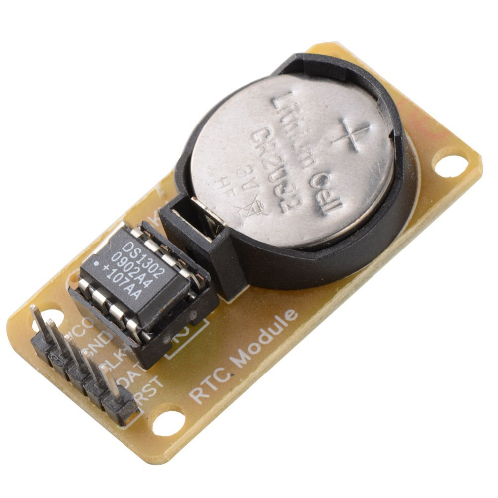 Hot Sale Smart Electronics DS1302 Real Time Clock ModuleWith CR2032 for arduino UNO MEGA Development Board Diy Starter Kit(China (Mainland))
