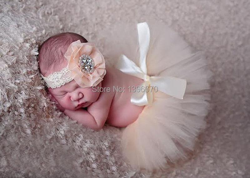 [해외]신생아 소녀 & 39;의 아기 사진에 담은 귀여운 BowKnot..