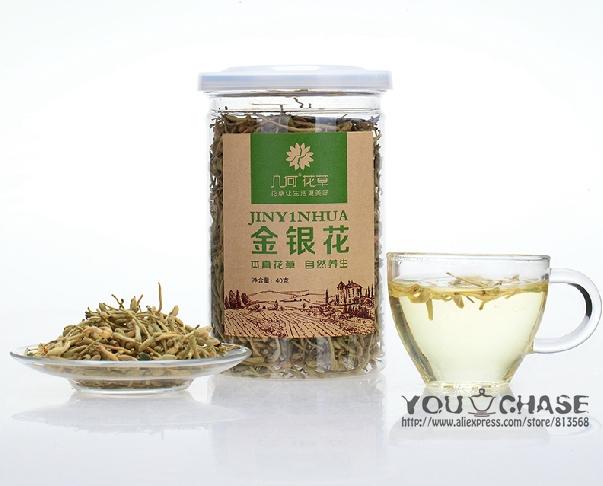 *Flower Tea*Jinyinhua Honeysuckle Floral &amp; Herbal Tea, 40g<br><br>Aliexpress