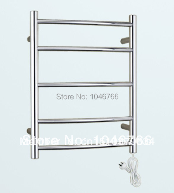 1pcs Heated Towel Rail Holder Bathroom Accessoriestowel: Heated Towel Rack, Stainless Steel Towel Warmer, Electric