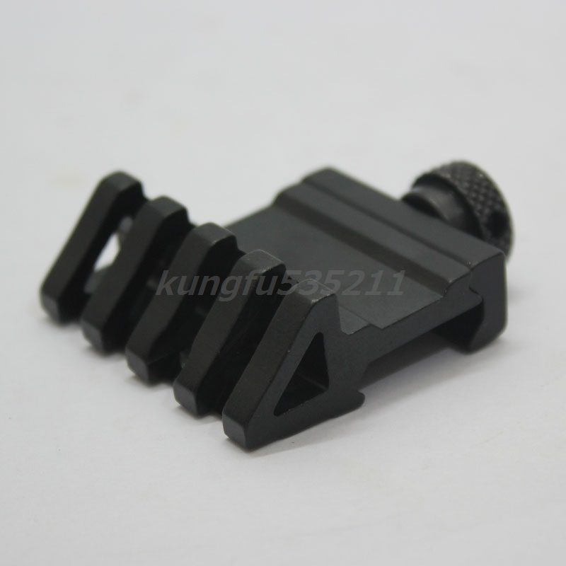 New 45 degree Tactical 1 Side Tilted Rail Mount Base Fits any 20mm standard rail Free shipping !(China (Mainland))