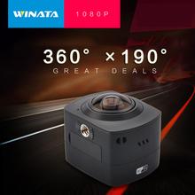 2016 360 1080P 30fps Panoramic Action font b Camera b font WiFi H 264 360 Degrees