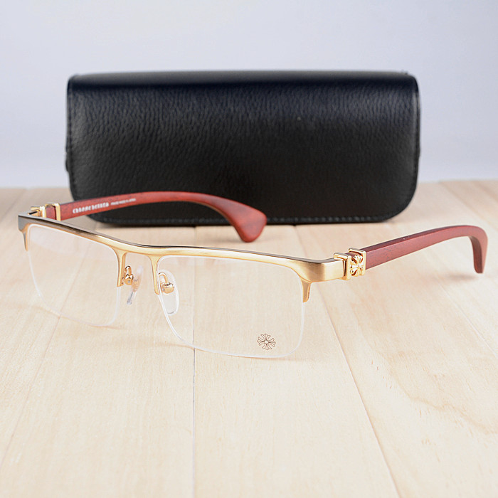 2016 luxury optical brand frame smuggler wooden leg vintage optical frame half rim eyeglass frames spectacle frame free shipping