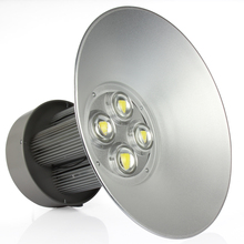 4pcs Express free shipping AC85-265V 50W 100W 150W 200W LED Industrial light Led high bay light for Warehouse/factory/hall(China (Mainland))