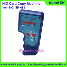 10pcs/lot Power function HI-ID Card Copy Machine/125KHz ID card copier / duplicator locksmith tools, RFID card copy machine(China (Mainland))