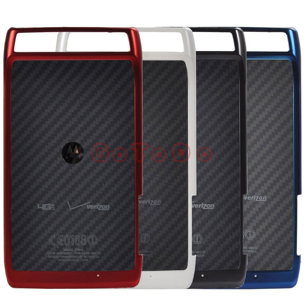 New Replacement Housing Battery Back Door Cover Case for Motorola DROID RAZR XT912 Free Shipping(China (Mainland))