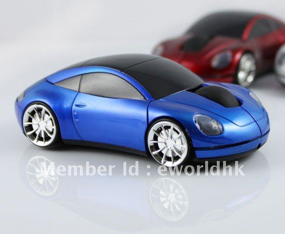 hot selling 2.4G Wireless car mouse,Free Shipping+Drop Shipping
