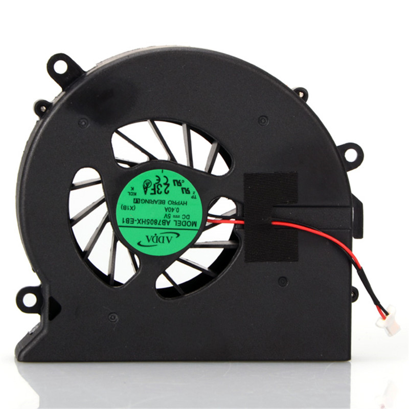 Laptops CPU Cooling Fan Notebook Computer Replacements Cooler Fan For HP Pavilion DV7 DV7-1000 DV7-2000 Sps-480481-001(China (Mainland))