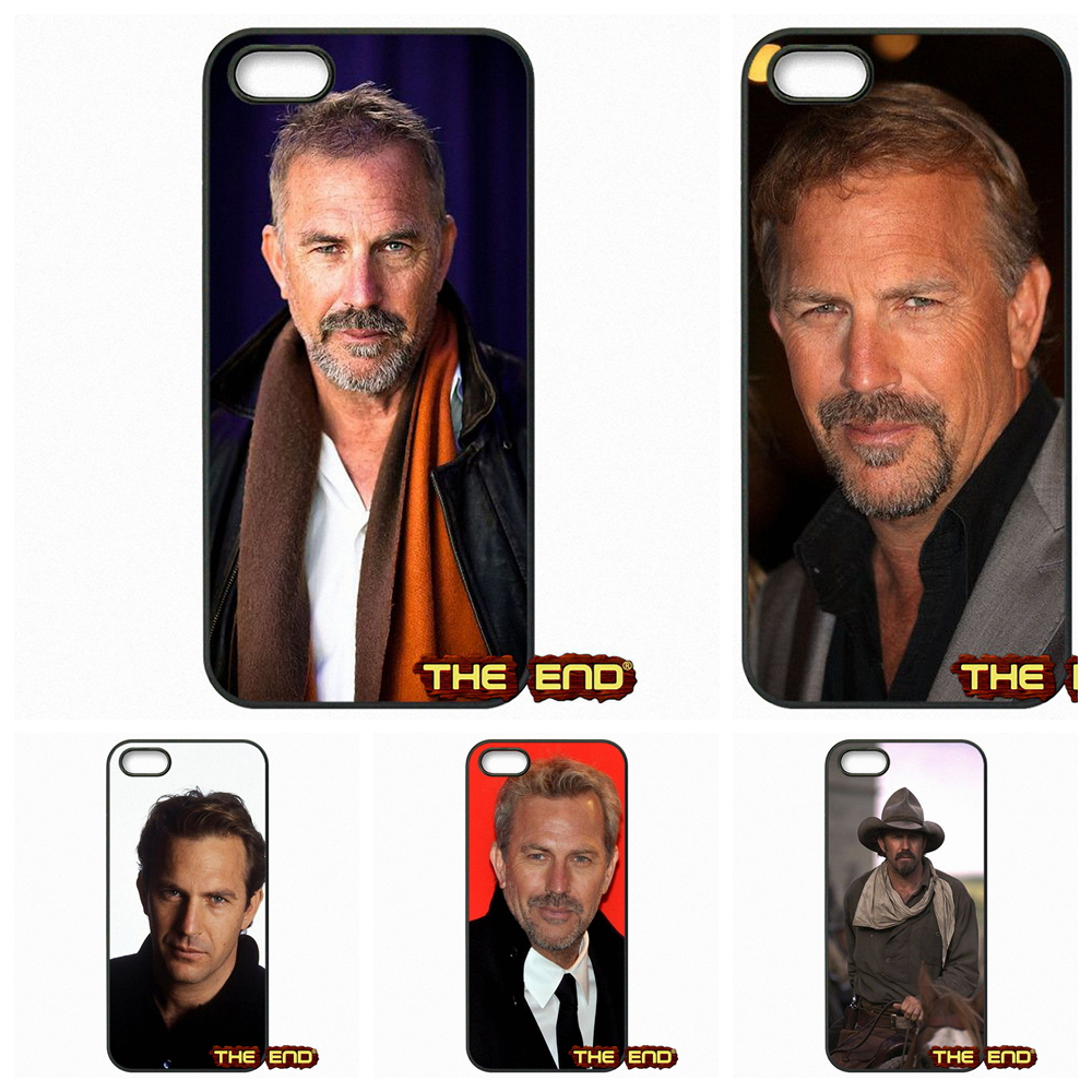 Kevin Costner American actor Cool Cell Phone Case Cover For Apple iPhone 4 4S 5 5C SE 6 6S Plus 4.7 5.5 iPod Touch 4 5 6(China (Mainland))