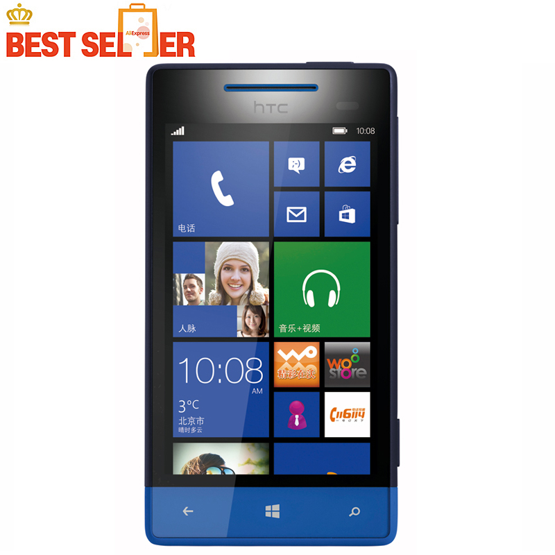8S Original Unlocked HTC 8S A620e Windows Phone 3G GPS WIFI 4.0''TouchScreen 5MP camera Free Shipping(China (Mainland))