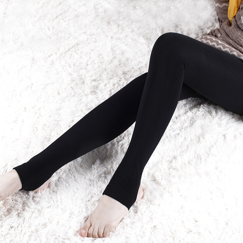 Maternity pants autumn and winter brushed stockings step maternity legging velvet slim thermal maternity belly pants(China (Mainland))