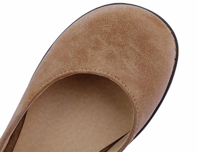 ซื้อ แพลตฟอร์มเท้ารอบรองเท้าผู้หญิงฤดูร้อน2016ระบายอากาศแมรี่เจนรองเท้าผู้หญิงแฟลตรองเท้าหนังอ่อนF Emmeสตรีรองเท้า