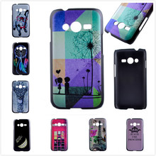 Luxury Cartoon Painted Cell Phone Case for Samsung Galaxy Ace 4 Neo G318H Duos Lite G313 G313H Case 3D Plastic Hard Back Cover