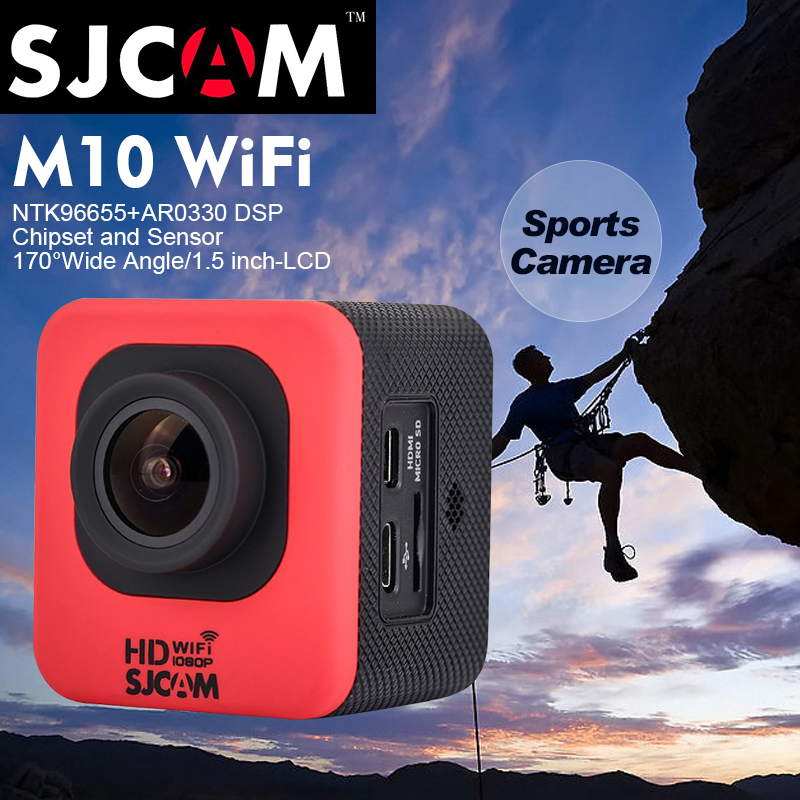 Здесь можно купить  100% Original SJCAM SJ4000 Cube M10 Wifi 1080P Full HD Extreme Sport DV Action Camera Diving 30M Waterproof SJCAM M10 Wi Fi Cam 100% Original SJCAM SJ4000 Cube M10 Wifi 1080P Full HD Extreme Sport DV Action Camera Diving 30M Waterproof SJCAM M10 Wi Fi Cam Бытовая электроника