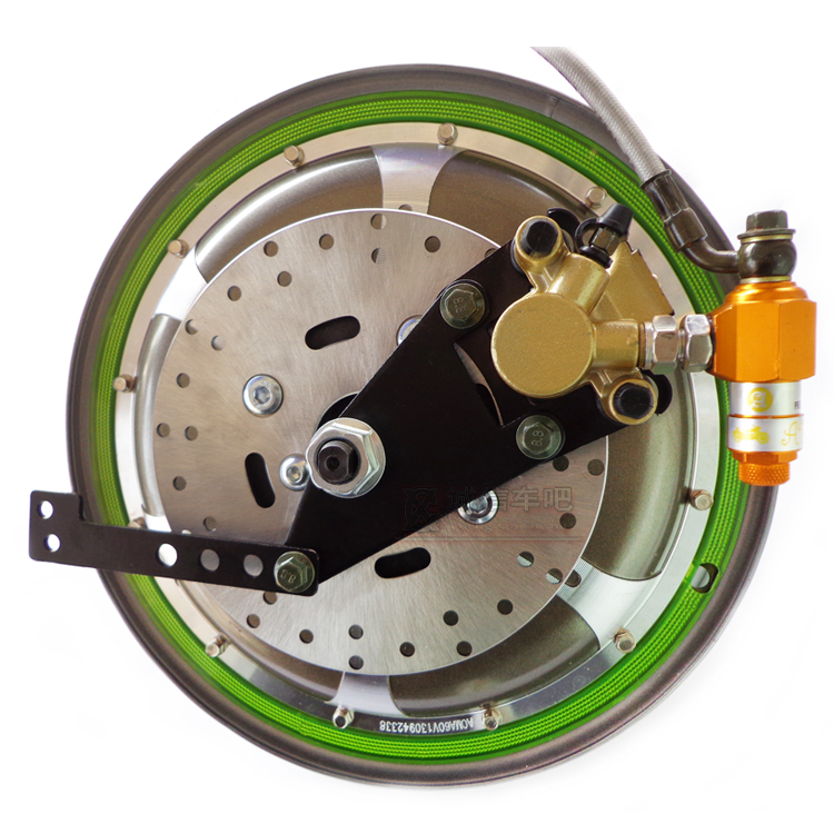 Electric vehicles into disc brake conversion left loaded 110 single drum brake oil  fluid pump ABS Free shipping<br><br>Aliexpress