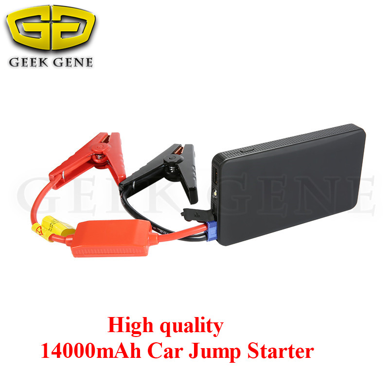 High power 14000mAh Mini Car Jump Starter Multi-function AUTO Emergency Start Power Bank Engine Booster Charger Battery Pack(China (Mainland))