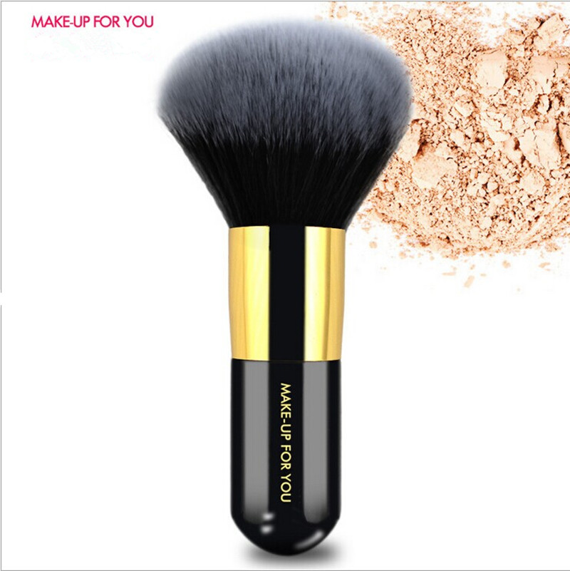 Big Beauty Powder Brush Makeup Brushes Blush Foundation Round Make Up Large Cosmetics Aluminum Brushes Soft Face Makeup(China (Mainland))