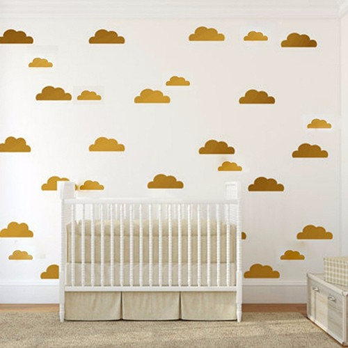 Clouds Decal Wall Art Nursery Kids Room Wall Sticker Home Decor