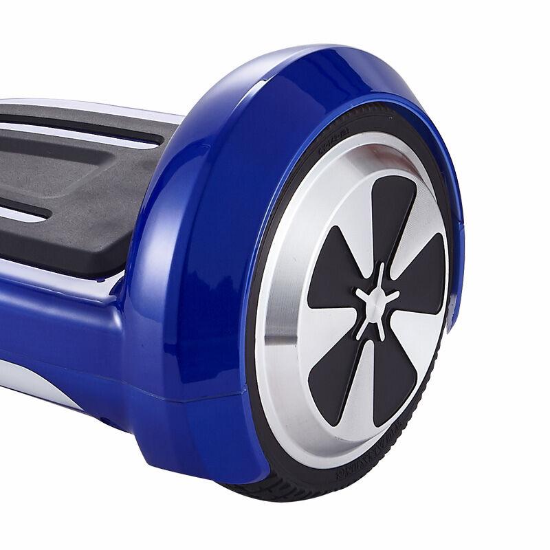 US stock UL2722 hoverboard 6.5inch Samsung battery Electric Skateboard steering-wheel Smart 2wheel self Balance Standing scooter
