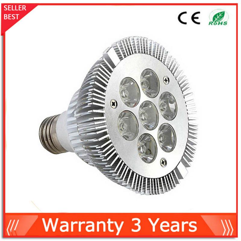 7W Dimmable Par30 LED Bulb Light Epistar Chip 10pcs Warranty 3 Years Par30 LED light Free Shipping<br><br>Aliexpress