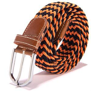 2014 New Casual Fashion Stretch Braided Elastic Faux leather Men Belts Men Accessories
