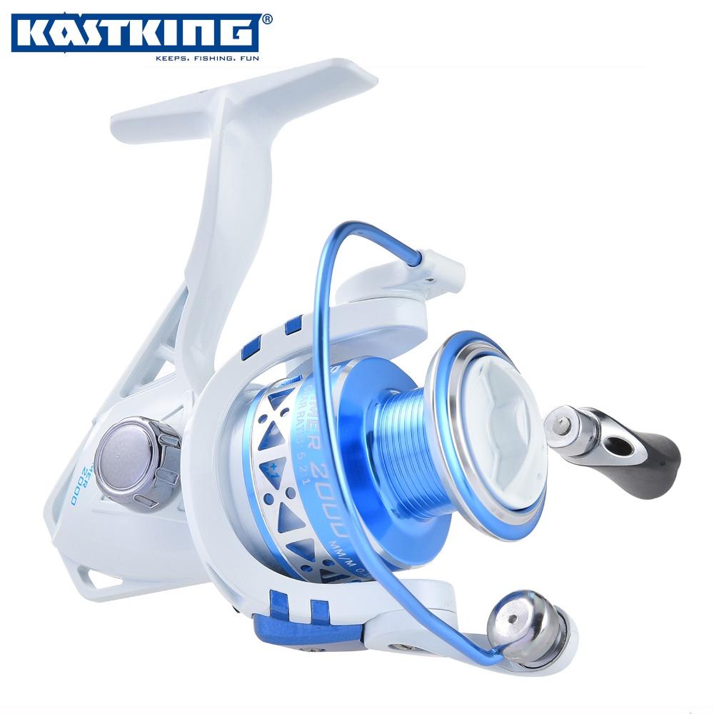 KastKing Summer 3000 Series 10 BBs 5.2:1 Spinning Reel Corrosion Resistant Big Game Open Face Carp Fishing Reel(China (Mainland))