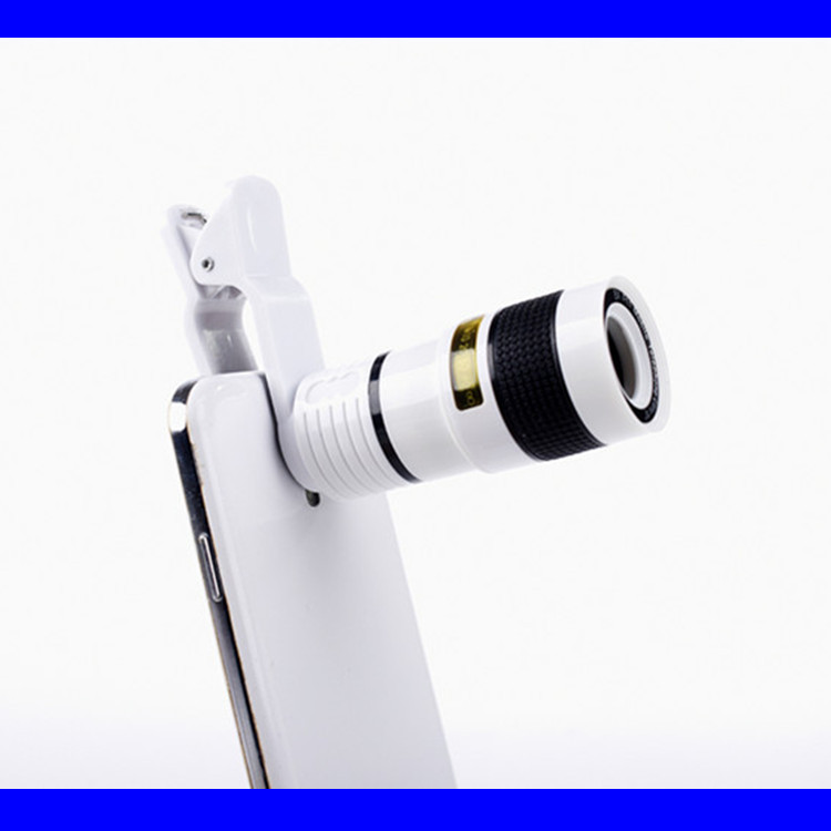 2016 Universal 8X Optical Zoom Telescope Camera Lens for Mobile Phone iPhone 4S 4G 5G 5S 5C Samsung i9300 S4 S3 Galaxy Note 2 3