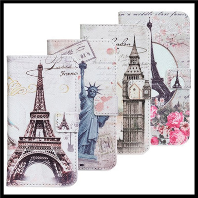 Phone Wallet For Samsung Galaxy S3 i9300 Famous Landscape Book Stand PU Leather Mobile Bag For Samsung Galaxy S3 Cover Case(China (Mainland))